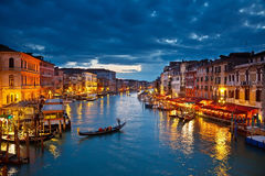 Canal magnífico Foto de archivo libre de regalías
