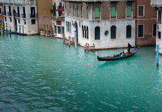 Canal magnífico de Venecia Foto de archivo