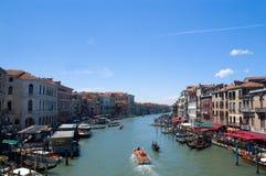 Canal magnífico de Venecia fotografía de archivo