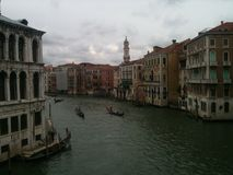 Canal magnífico de Venecia Imágenes de archivo libres de regalías