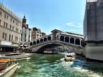 Canal magnífico de Venecia Fotos de archivo