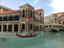 Canal magnífico de Venecia imagenes de archivo