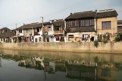 Canal magnífico en China Fotografía de archivo