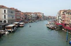 Canal magnífico en Venecia imagen de archivo
