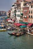 Canal magnífico en Venecia Fotos de archivo