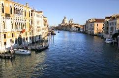 Canal magnífico en Venecia Imágenes de archivo libres de regalías