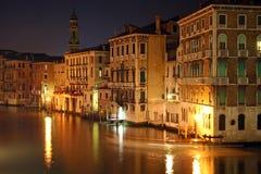 Canal magnífico en Venecia fotografía de archivo