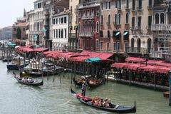 Canal magnífico en Venecia, Italia imagen de archivo
