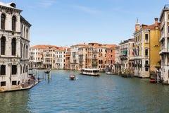 Canal magnífico en Venecia Italia imágenes de archivo libres de regalías