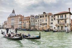 Canal magnífico en Venecia Italia Foto de archivo