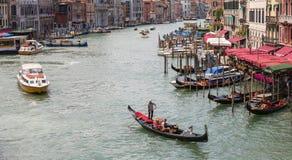 Canal magnífico en Venecia Italia fotos de archivo libres de regalías