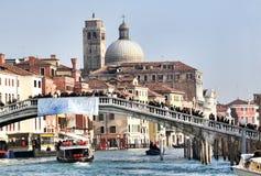 Canal magnífico, Venecia Fotos de archivo libres de regalías