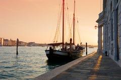 Canal magnífico, Venecia. Fotografía de archivo