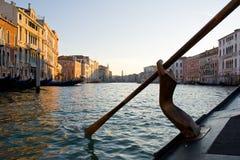 Canal magnífico, Venecia. Fotos de archivo