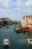Canal magnífico, Venecia Imagen de archivo libre de regalías