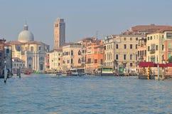 Canal magnífico, Venecia Foto de archivo libre de regalías