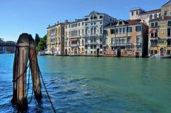 Canal magnífico, Venecia Foto de archivo