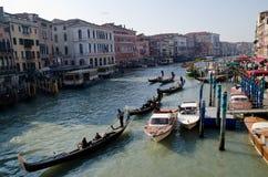Canal magnífico Venecia, Italia Imagen de archivo libre de regalías