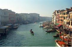 Canal magnífico, Venecia, Italia Fotografía de archivo libre de regalías