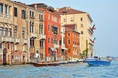 Canal magnífico veneciano Imagenes de archivo