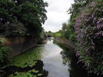 Canal magnífico de la unión Imagen de archivo