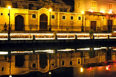 The canal of Malacca Royalty Free Stock Image