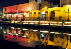 Canal of Malacca Stock Photography