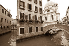 Canal of Miracles, Venice, Italy Stock Photography