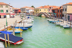 Canal in Murano, Italy Stock Photography