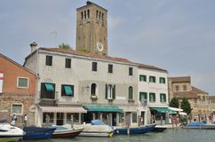 Canal in Murano Royalty Free Stock Image