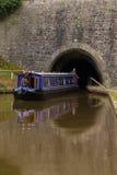 Canal Narrowboat Royalty Free Stock Images