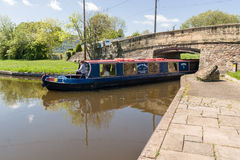 Canal Narrowboat Royalty Free Stock Images