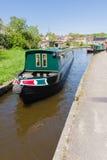 Canal Narrowboats imagens de stock