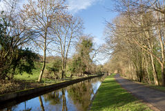 Canal near pentre Stock Photos