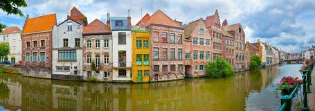Ghent, Bélgica Foto de Stock Royalty Free