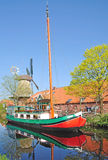 Canal in northern Germany Royalty Free Stock Photography