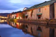 Canal in Otaru Stock Photos