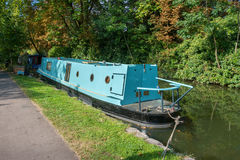 Canal in Oxford. England Stock Images