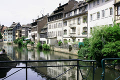 Canal at Petite France Royalty Free Stock Photo