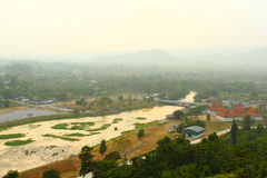 Canal. This photo are canal from Khoondan dam Nakronnayok Thailand Stock Photography