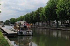 Canal pintoresco Foto de archivo libre de regalías