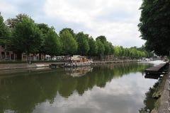 Canal pintoresco Imagen de archivo libre de regalías