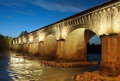 Canal-ponte Fotos de Stock Royalty Free