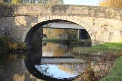 Bridge Over Still Waters stock photos