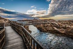 CANAL ROCKS AND BEACH SURROUNDING Stock Photo