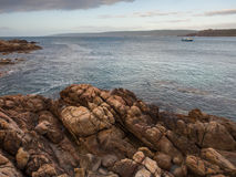 Canal Rocks at dusk, Western Australia Stock Photography