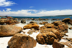 Canal Rocks. Near Yallingup in Western Australia Royalty Free Stock Image