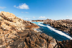 Canal Rocks, Yallingup, W Australia Royalty Free Stock Photography
