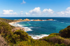 Canal Rocks, Yallingup, W Australia Royalty Free Stock Photos
