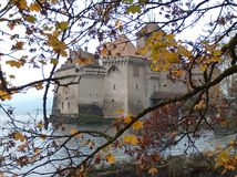 Castillo de Chillon Stock Images